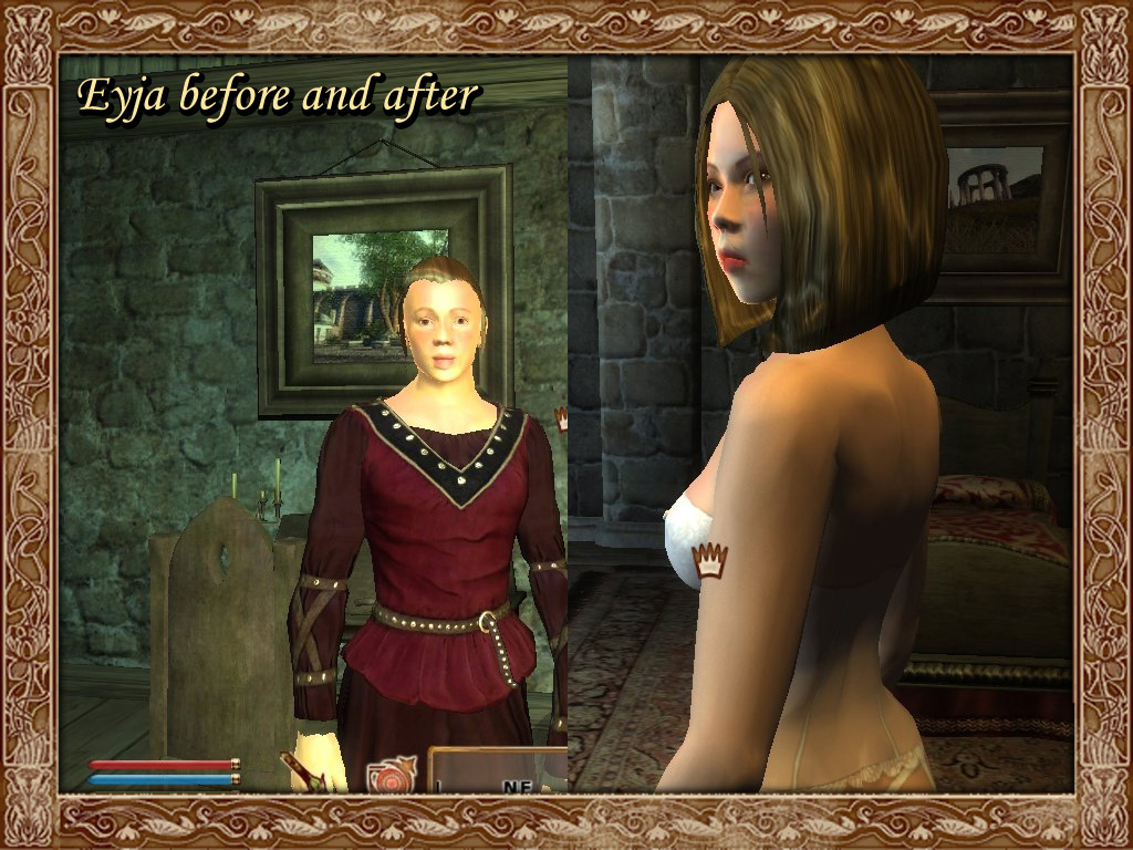 The Romancing of Eyja Oblivion mod featuring romance, companionship and ...