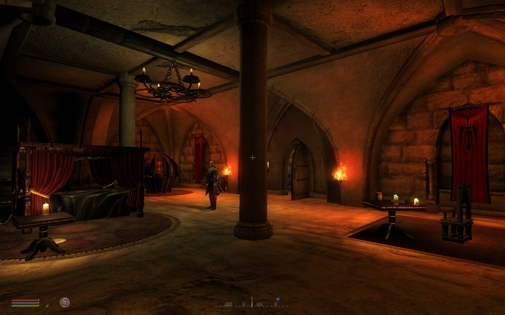 Unholy Darkness Complete Vampire Overhaul For Oblivion - Make-your-room-look-like-a-vampires-room